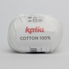 Cotton 100% 1 wit - Katia