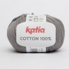 Cotton 100% 15 mediumgrijs - Katia