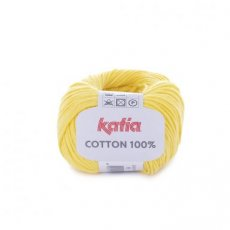 Cotton 100% 19 geel - Katia