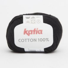 Cotton 100% 2 zwart - Katia