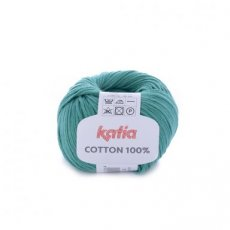 Cotton 100% 59 mintgroen - Katia